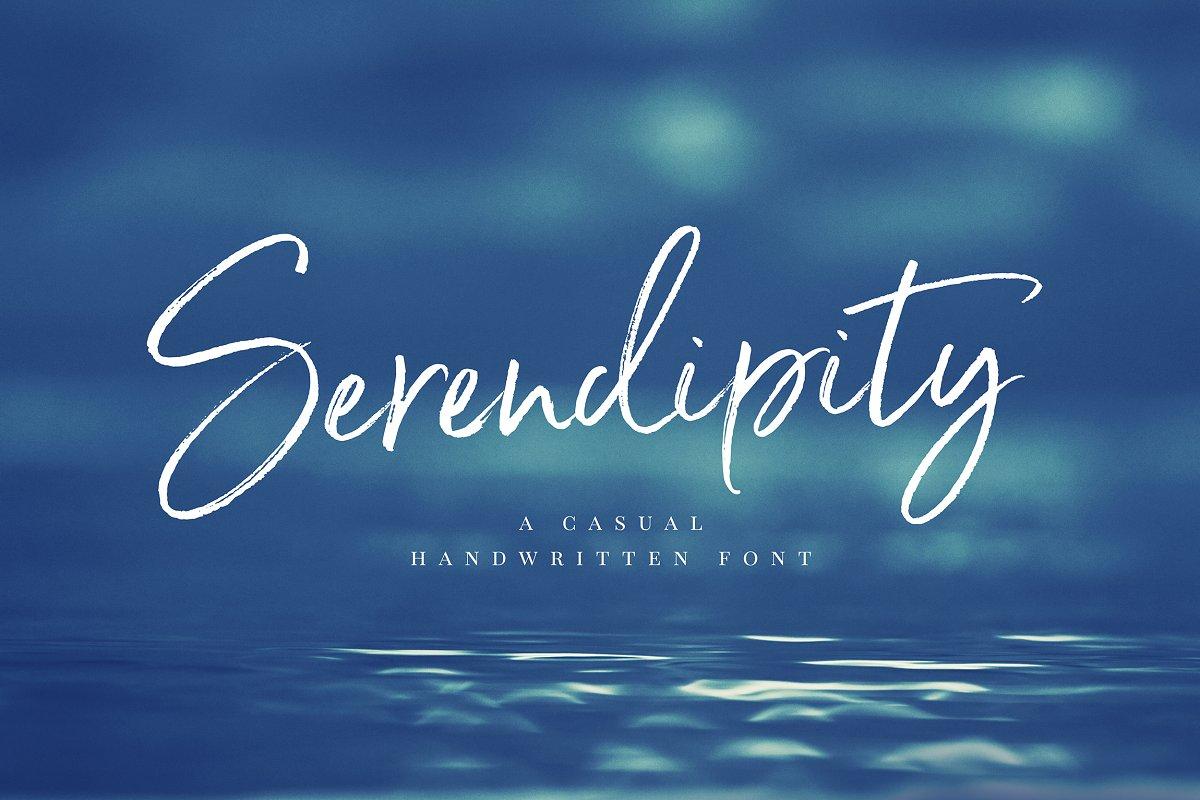 Serendipity Handwritten Font