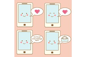 Cute smartphone icons + little bonus