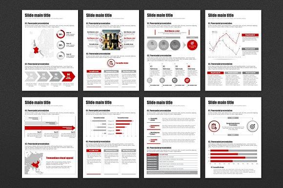 modern presentation vertical presentation templates creative market