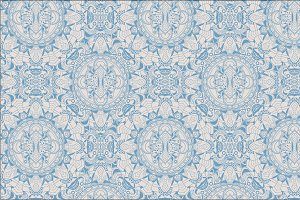 Seamless fantastic abstract pattern