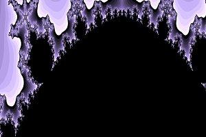 Violet fractal background