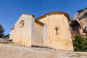 Romanesque hermitage st Bartholomew