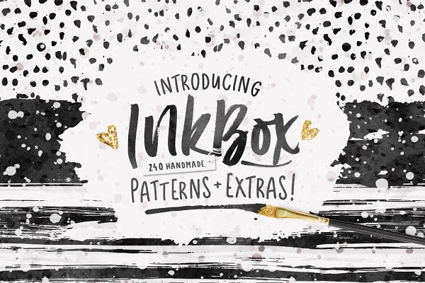 InkBox - 240 Inky Patterns + Extras…