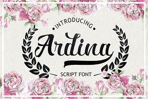 Ardina Script