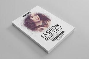 Fashion Show Flyer Template-V535