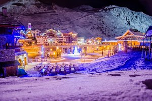 Christmas in French Alps