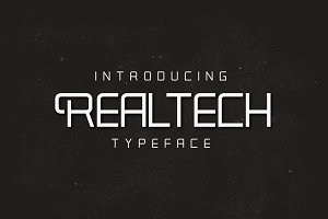 Realtech Typeface
