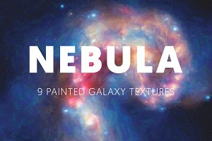 Nebula - 9 Painted Galaxy Textures