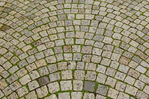 Tiled cobblestone
