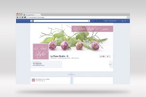 Beautiful Facebook Header Template