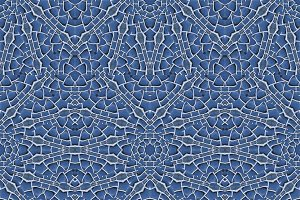 Intricate Geometric Seamless Mosaic