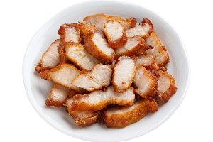 Deep fried pork belly