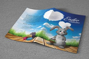 Easter - Bifold Brochure