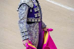 Bullfighter suit