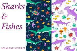 Patterns with Sharks and Fishes