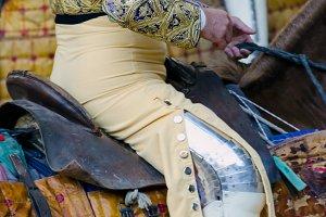 bullfighter horseman