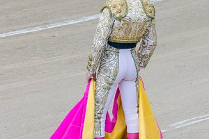 Spain. Torero rear view
