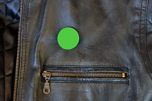 Leather Jacket Badge