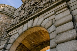 Bisagra gate detail. Toledo. Spain