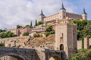 Toledo Alcazar view