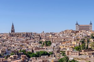 Panoramic of Toledo. Spain