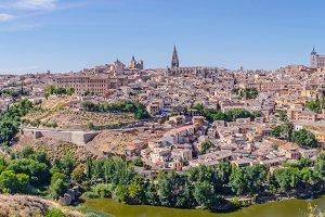 Toledo panoramic. Spain