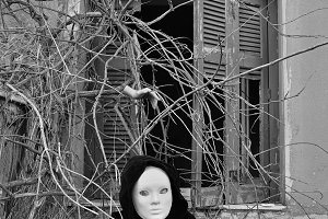Masked Figure Branches
