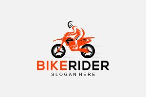 Bike Rider Logo 2