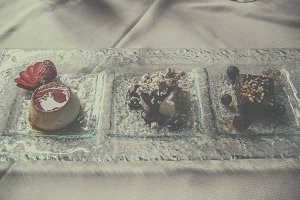 Three deserts