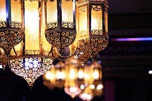 Arabic lamps.