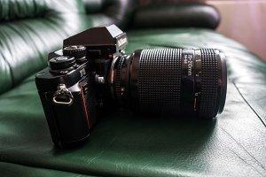 Nikon F3 SLR film camera