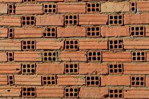 Brickwall background horizontal