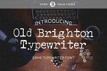 Old Brighton Typewriter - Font