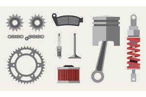 Auto and moto parts