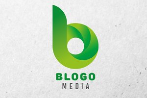 Blogo Logo Design Template 4 Colors