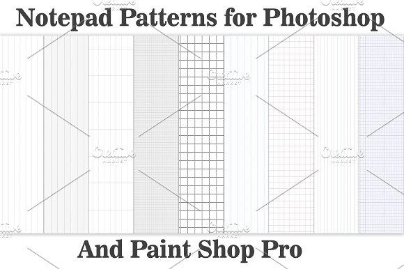Tilelable Notepad Patterns