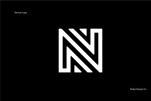 N is for Narrow Logo