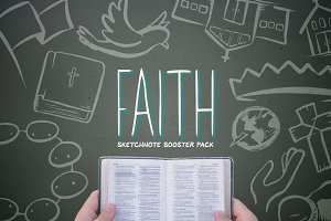 Faith: Sketchnote Booster Pack