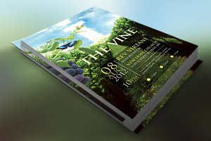 Vine Church Flyer Template