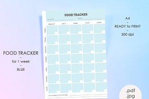 Food tracker (weekly planner)