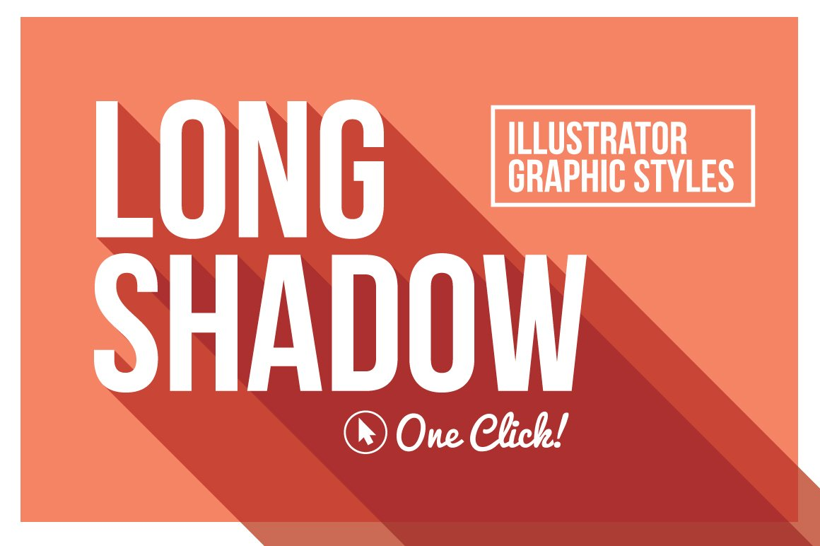 Poster design trends 2015 - Long Shadow Graphic Styles