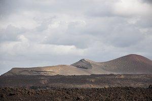 alien landscape of Lanzarote