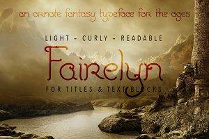Fairelyn Fantasy Typeface