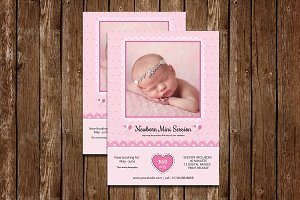Newborn Mini Session Template-V536