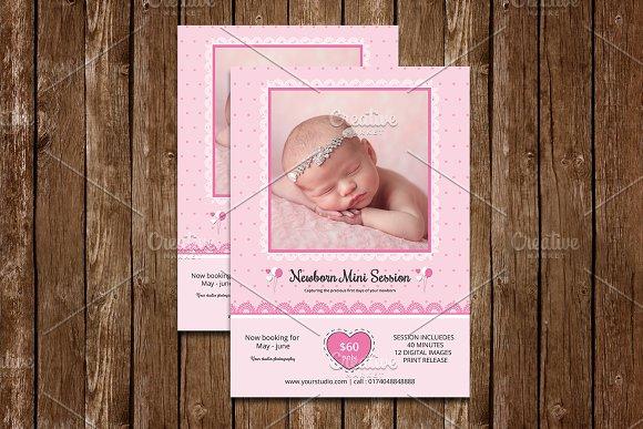 Newborn Mini Session Template-V536