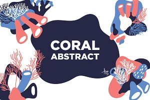 Abstract Coral