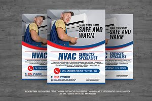 HVAC Services Flyer