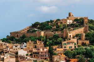 Capdepera Castle in Mallorca