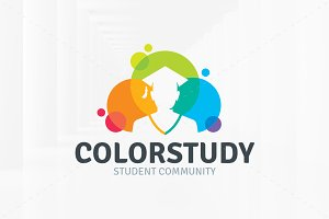Color Study Logo Template