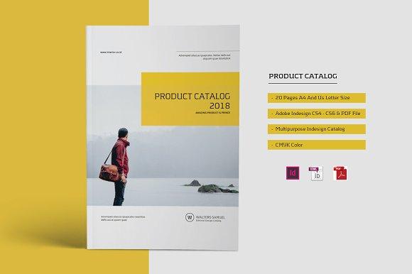 product catalog brochure brochure templates creative market